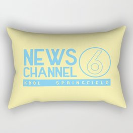 KBBL Springfield Camera Crew Rectangular Pillow