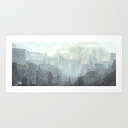 The Holy City of Vasselheim Art Print