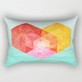 Heart of the sea Rectangular Pillow