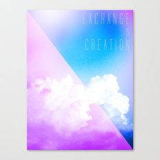 Exchange Canvas Print