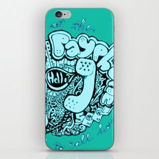 all of my change i've spent on you iPhone & iPod Skin