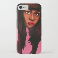 nicki iPhone & iPod Cases featuring Watch the queen conquer by Papa-Paparazzi