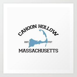 Cahoon Hollow, Cape Cod Art Print