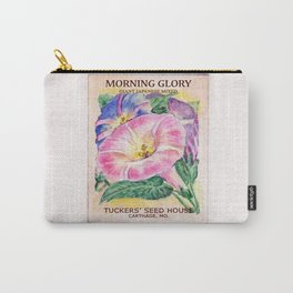 Morning Glory Seed Pack Carry-All Pouch