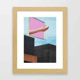 Role Play Framed Art Print