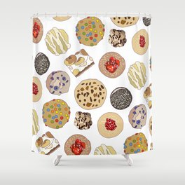 Cookie Heaven Shower Curtain