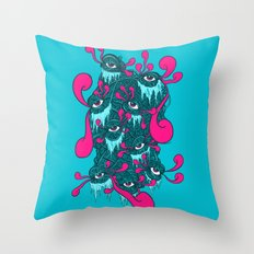 Of The Beholder V2 Throw Pillow