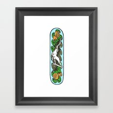 Skateboard Framed Art Print