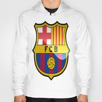 barcelona Hoodies featuring BARCELONA by Acus