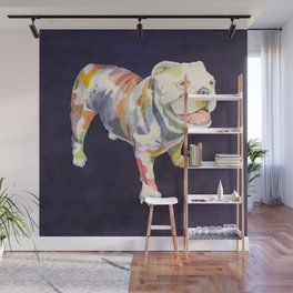 English Bulldog Wall Mural
