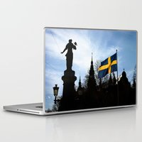 stockholm Laptop & iPad Skins featuring Stockholm by Mark Hill