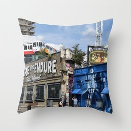 Adore and Endure Throw Pillow