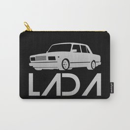 Lada 2107 - silver - Carry-All Pouch