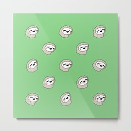 Sloth Party! Metal Print