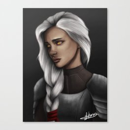 Last Crochan Queen Canvas Print