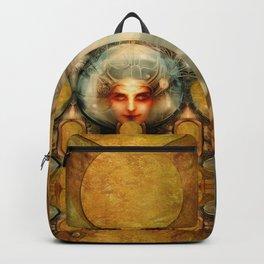 """Art Deco Retro The Chimera"" Backpack"