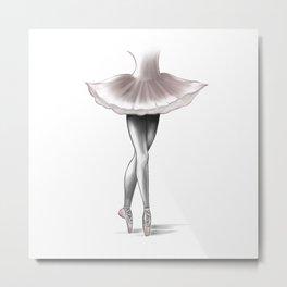 Ballerina - by Ashley Rose Metal Print