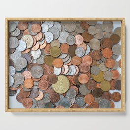 Coins Serving Tray
