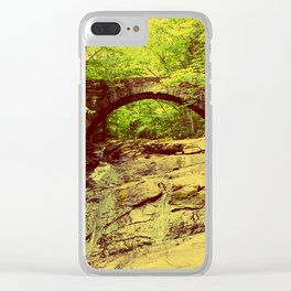 Hobbitland Bridge Clear iPhone Case