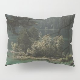 Framed by Nature - Landscape Photography Pillow Sham