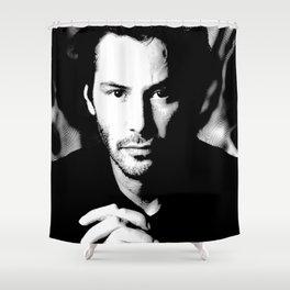 Iconic Keanu Shower Curtain