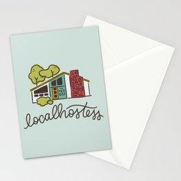 Localhostess Stationery Cards