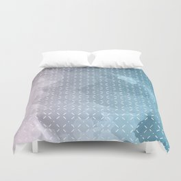 Geometric Aquarelle Duvet Cover