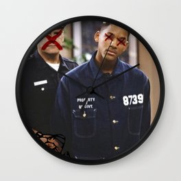 """THEY"" SEEK TO DESTROY THE KING IN U.S. Wall Clock"