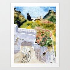Greek Memories No. 6 Art Print