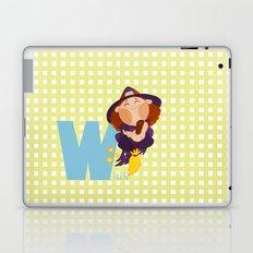 w for witch Laptop & iPad Skin