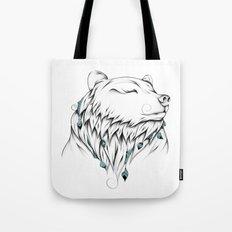 Poetic Bear Tote Bag