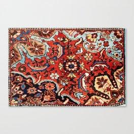 Mahal Vagireh Arak West Persian Rug Sampler Canvas Print