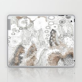 """Gray"" illustration Laptop & iPad Skin"