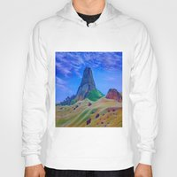 mountain Hoodies featuring Mountain by ArtSchool