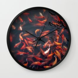 NATURE - FISH - WATER - ANIMALS Wall Clock