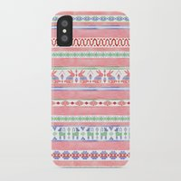 mexican iPhone & iPod Cases featuring Mexican Blanket by Sian Keegan