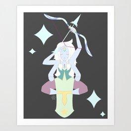 Believe In Opal Art Print