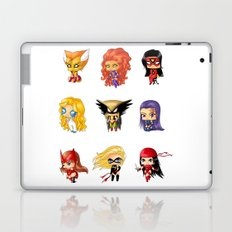 Chibi Heroines Set 3 Laptop & iPad Skin