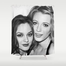 Gossip Girl Shower Curtain