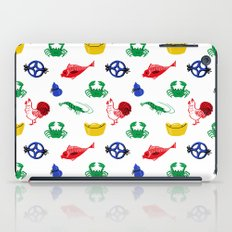 Fish prawn crab iPad Case