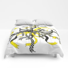 Swirling Ribbons Comforters