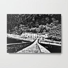 Ponte della Maddalena Metal Print