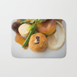 The Art of Food Bone In Bath Mat