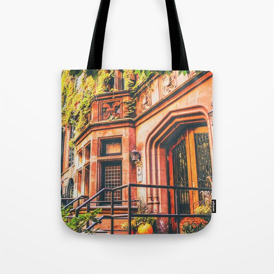 New York City Autumn Pumpkin Tote Bag