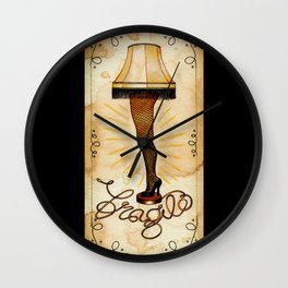 Fragile Wall Clock