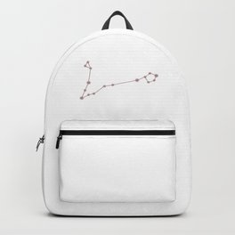 Pisces Zodiac Constellation Neutral Rose Backpack