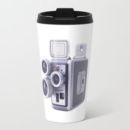 Vintage Camera 16mm Travel Mug