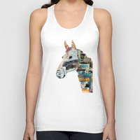 mod Tank Tops featuring the mod horse by bri.buckley