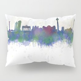 Berlin City Skyline HQ3 Pillow Sham