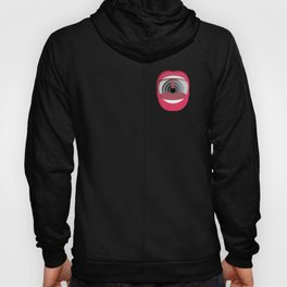 OPEN WIDE (Gray) Hoody